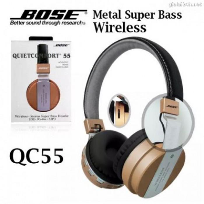 Headphone Bluetooth BOSE CQ-55, tai nghe không dây với thiết kế gọn gàng theo phong cách hiện đại1