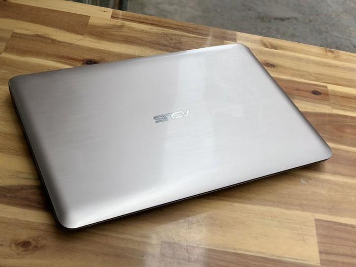Laptop Asus A556UR, I5 6200U 4G 500G Vga GT930MX Đẹp zinm5