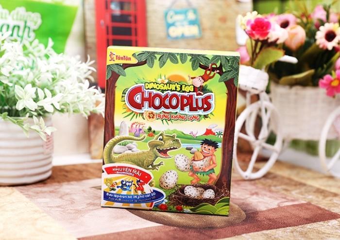 Đậu phộng Chocoplus Trứng Khủng Long Tân Tân hộp 38g1