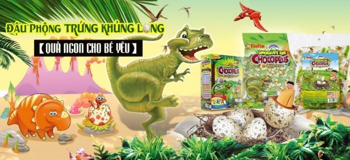 Đậu phộng Chocoplus Trứng Khủng Long Tân Tân hộp 38g0
