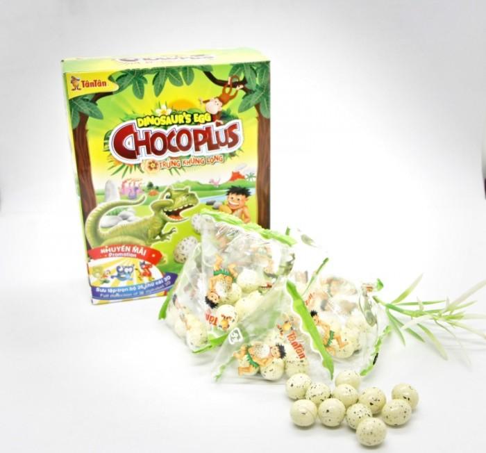 Đậu phộng Chocoplus Trứng Khủng Long Tân Tân hộp 38g4