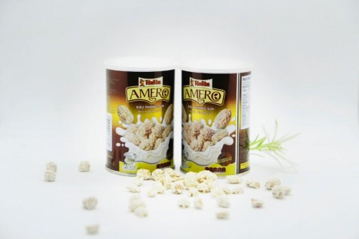 Đậu phộng Amero Tân Tân vị sữa lon 110g