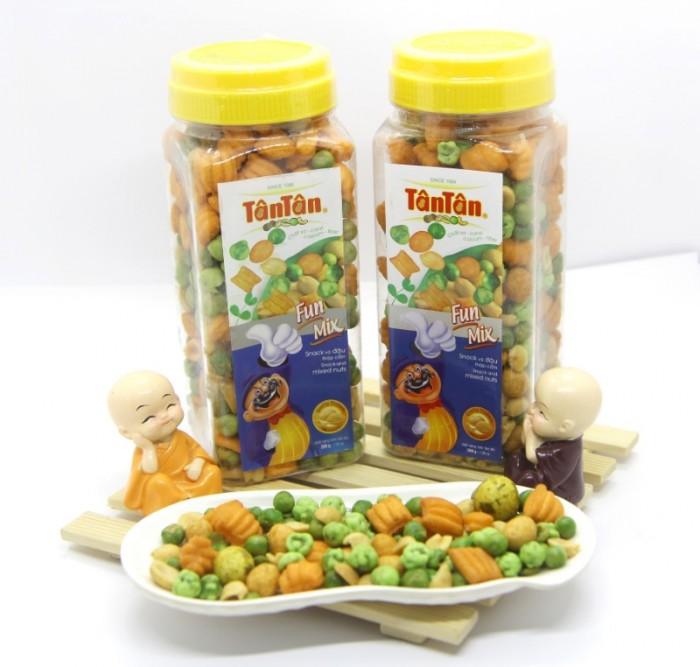 Snack và đậu thập cẩm Tân Tân 200g