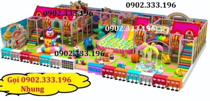 Chuyên thiết kế khu vui chơi trẻ em, khu vui chơi liên hoàn trong nhà8