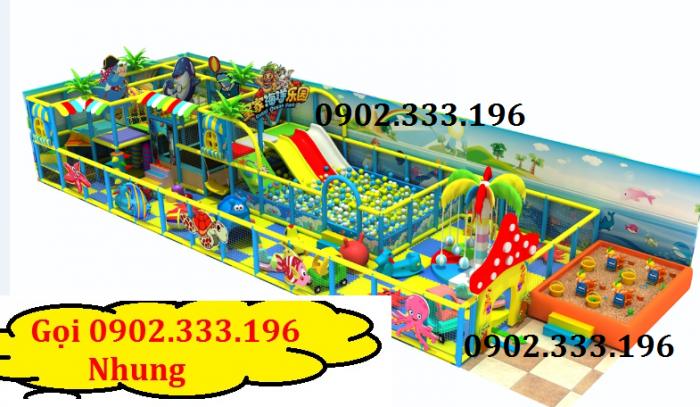 Chuyên thiết kế khu vui chơi trẻ em, khu vui chơi liên hoàn trong nhà7