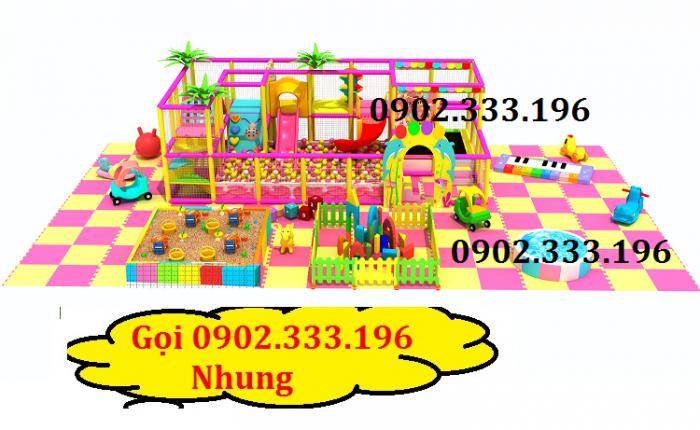 Chuyên thiết kế khu vui chơi trẻ em, khu vui chơi liên hoàn trong nhà9