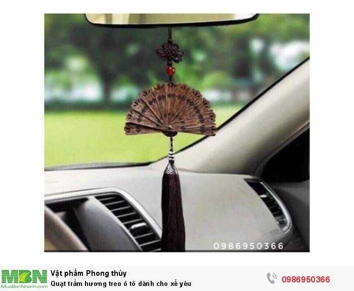 Quạt trầm hương treo ô tô dành cho xế yêu0