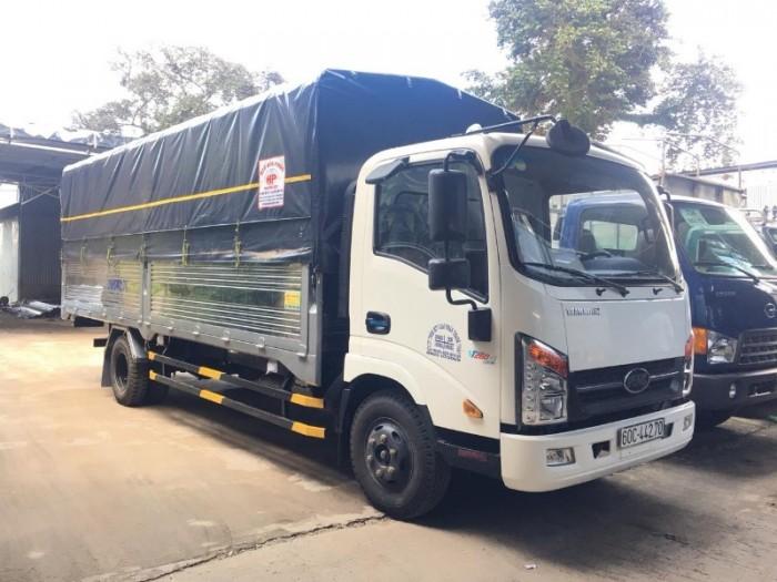 Xe tải VEAM VT340-1 trọng tải 3,5 tấn thùng dài 6m1. trang bị động cơ ISUZU EURO IV