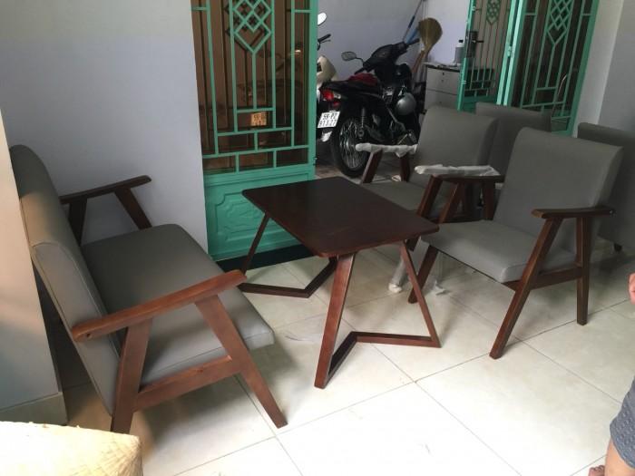 Thanh lý bộ bàn ghế sofa cafe tphcm