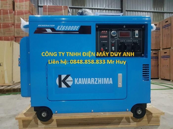 Nhà phân phối máy phát điện kawazhima KZ6500DE 5kw3