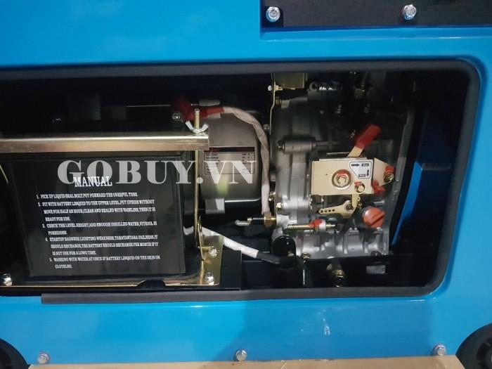 Nhà phân phối máy phát điện kawazhima KZ6500DE 5kw1