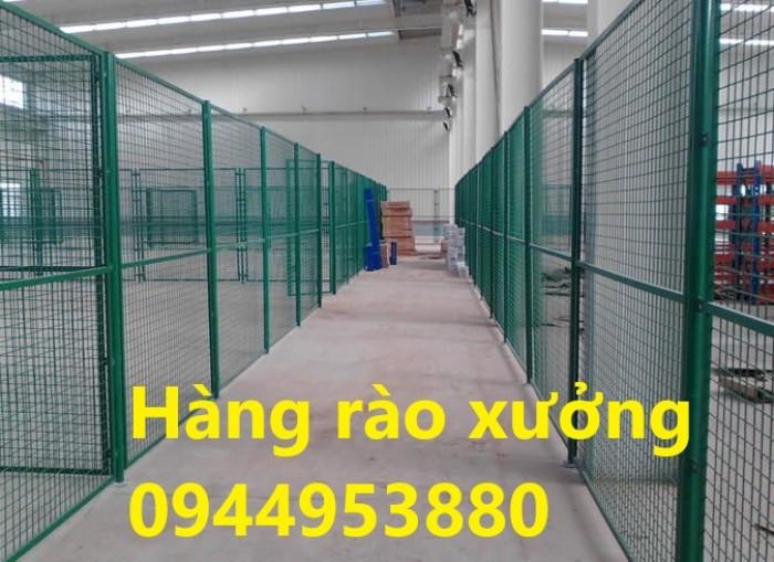 Lưới thép hàng rào mạ kẽm, hàng rào sơn tĩnh điện3