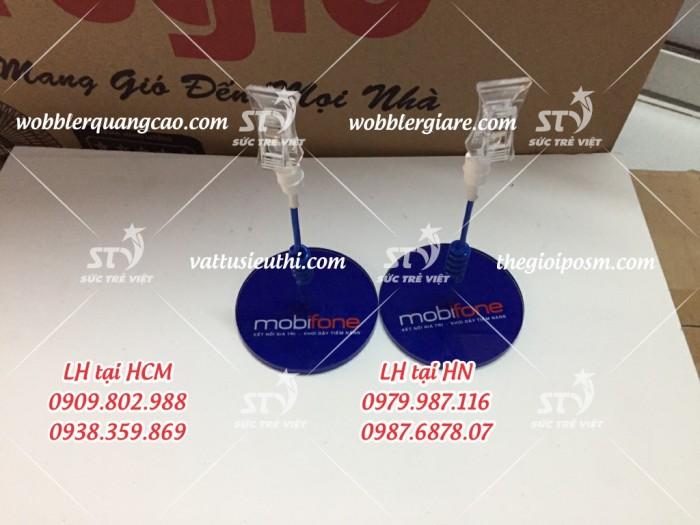 wobbler để bàn đế mica, wobbler quảng cáo đế mica, wobbler để bàn đế nhựa, wobbler quảng cáo31