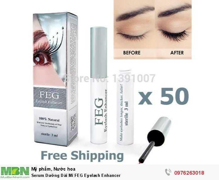 Serum Dưỡng Dài Mi FEG Eyelash Enhancer