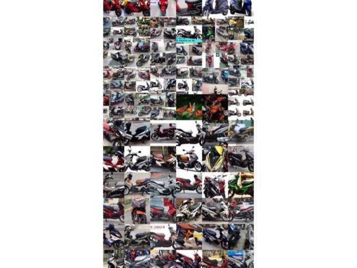 Cho thuê xe máy tại Cầu sài Gòn - Quận 2 -- Tphcm