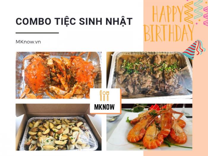 Combo đặt tiệc sinh nhật tại nhà Bình Thạnh - Ẩm thực MKnow