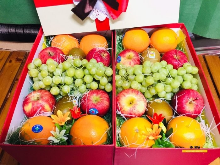 Hộp trái cây quà tặng - FSNK72 Mới 100%, giá: 980.000đ, gọi: 0373600600,  Quận Bình Thạnh - Hồ Chí Minh, id-75d61600