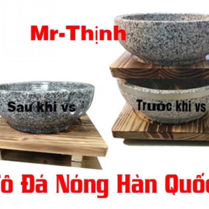 Tô đá nóng, thố đá nóng, bát đá nấu phở cơn trộn Hàn Quốc.0