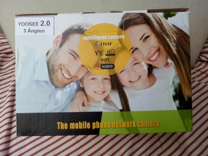 Camera IP Wifi 2.0M YooSee - Camera Xoay 360 độ, đàm thoại 2 chiều5