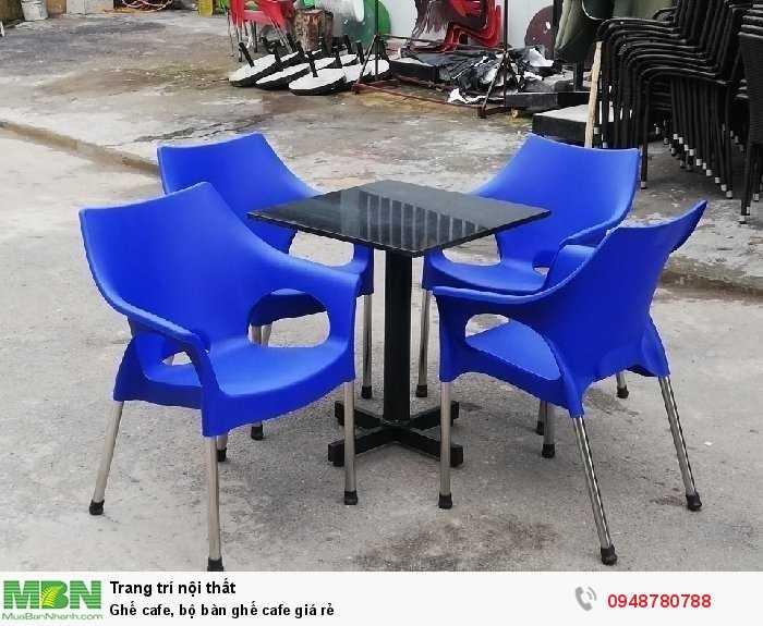 Ghế cafe, bộ bàn ghế cafe giá rẻ0