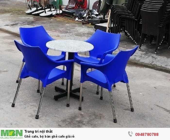 Ghế cafe, bộ bàn ghế cafe giá rẻ1