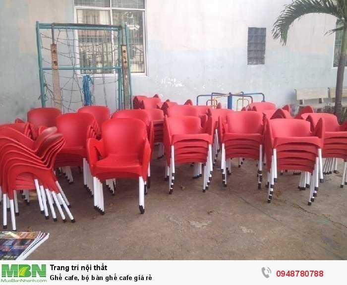 Ghế cafe, bộ bàn ghế cafe giá rẻ2