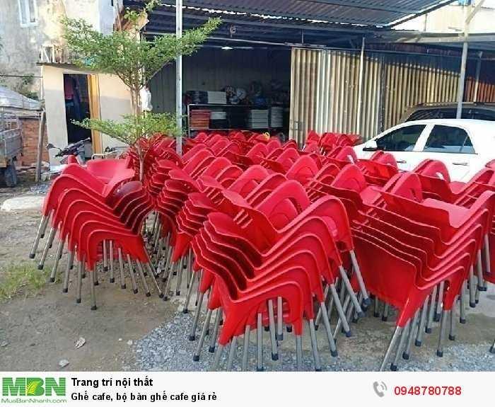 Ghế cafe, bộ bàn ghế cafe giá rẻ3