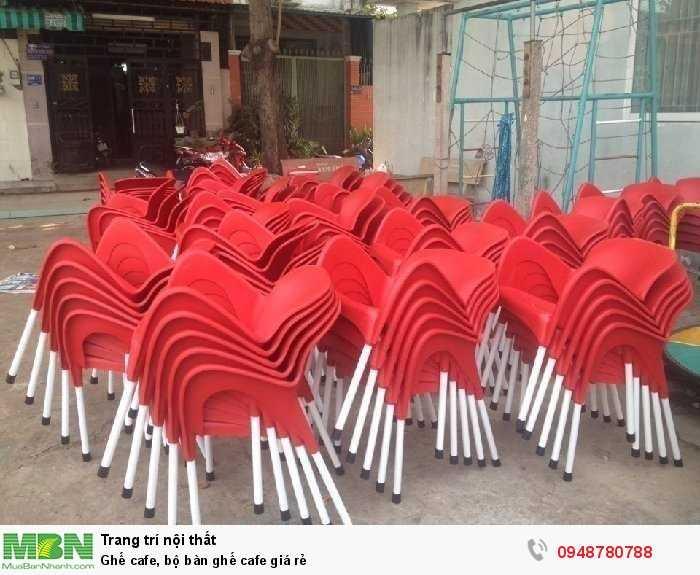 Ghế cafe, bộ bàn ghế cafe giá rẻ4