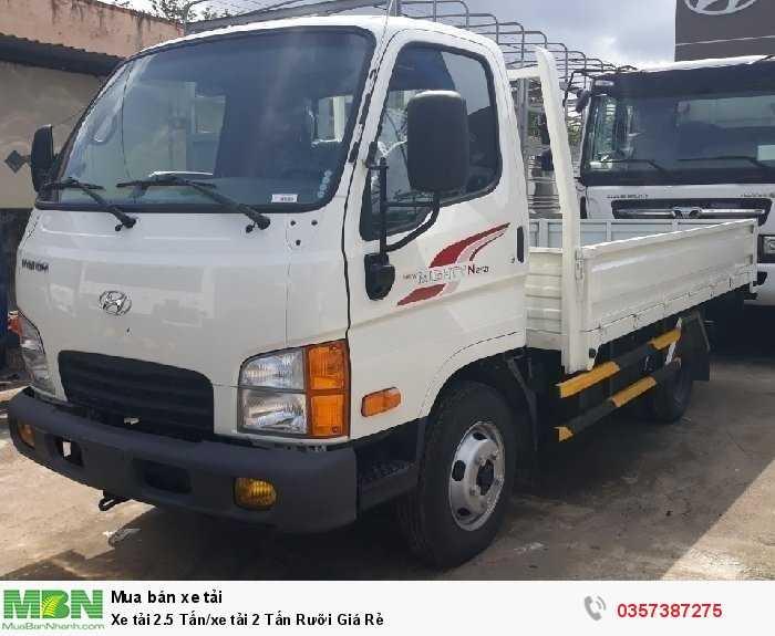 Xe tải 2.5 Tấn/xe tải 2 Tấn Rưỡi Giá Rẻ 0