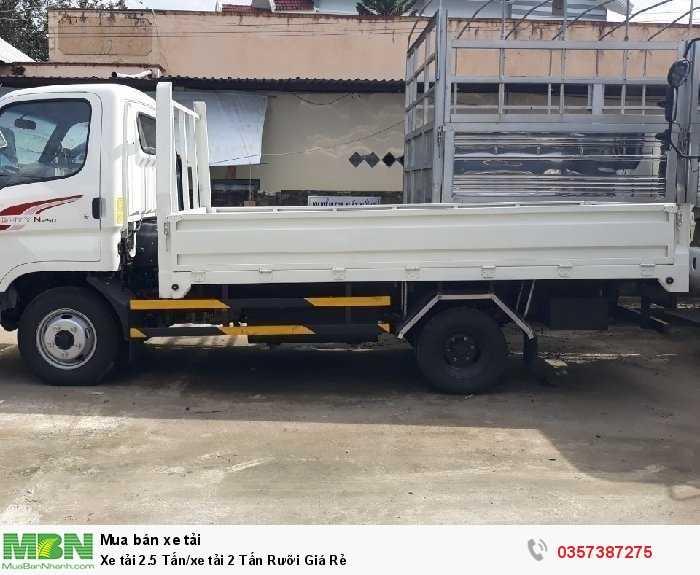 Xe tải 2.5 Tấn/xe tải 2 Tấn Rưỡi Giá Rẻ 1
