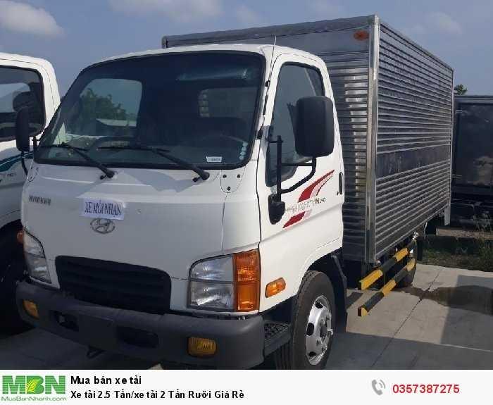 Xe tải 2.5 Tấn/xe tải 2 Tấn Rưỡi Giá Rẻ 4