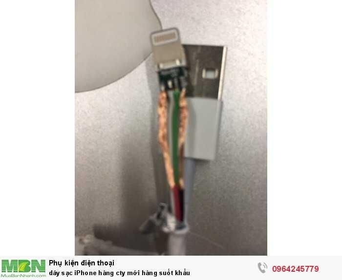 dây sạc iPhone  hàng cty mới hàng suốt khẩu1