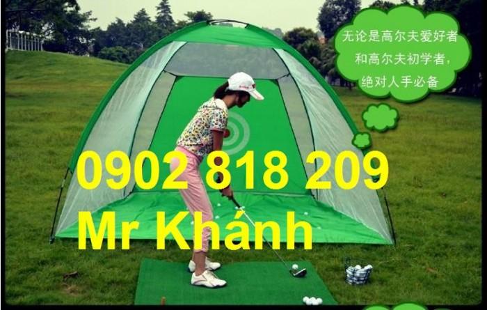 Lều golf, lều tập golf di động2