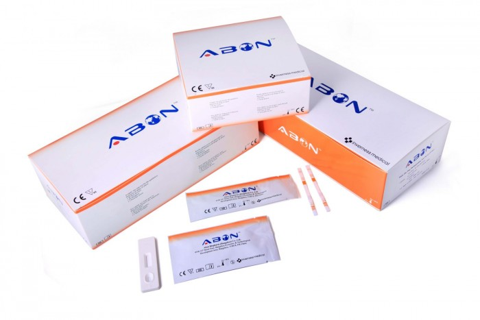 Kit thử phát hiện sử dụng chất gây nghiện AMP Amphetamine (Nước tiểu)0