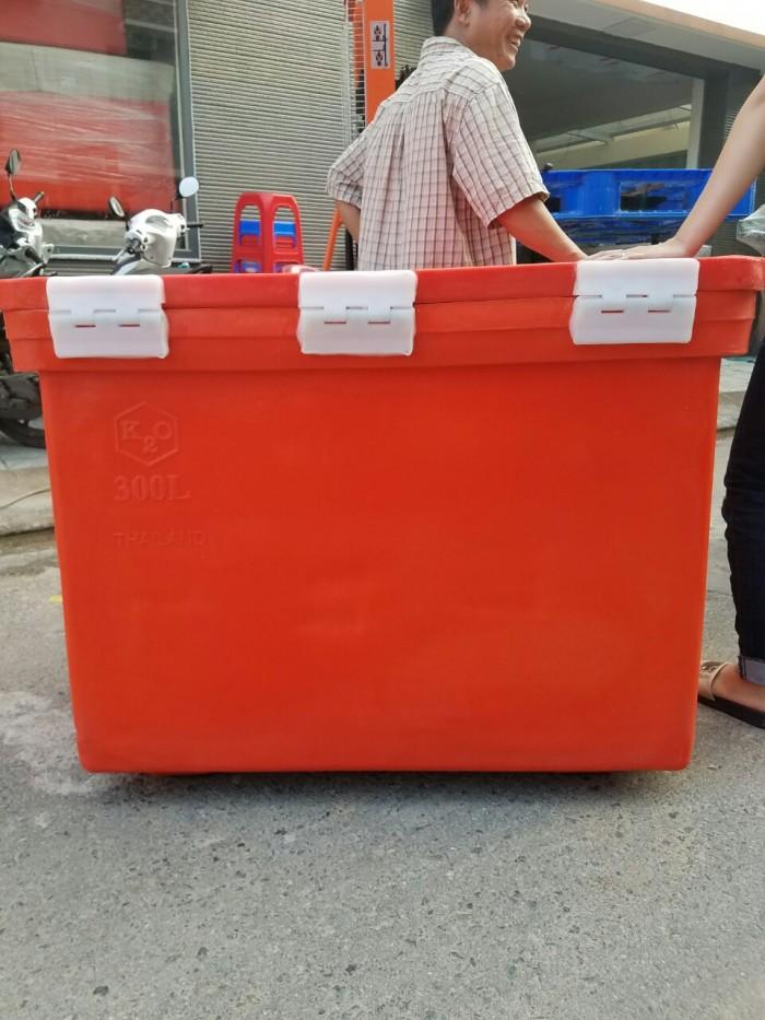 Bán thùng đá nhập khẩu từ Thai Lan dung tích 450 lit0