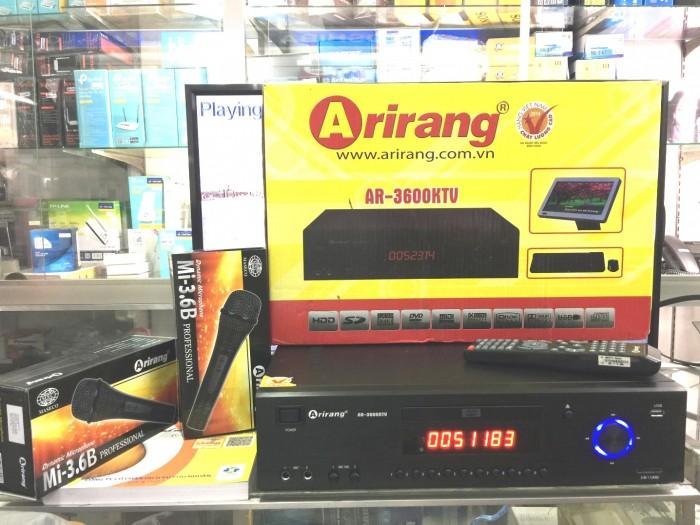 Đầu Arirang 3600KTV chính hãng 100%, mới 100%