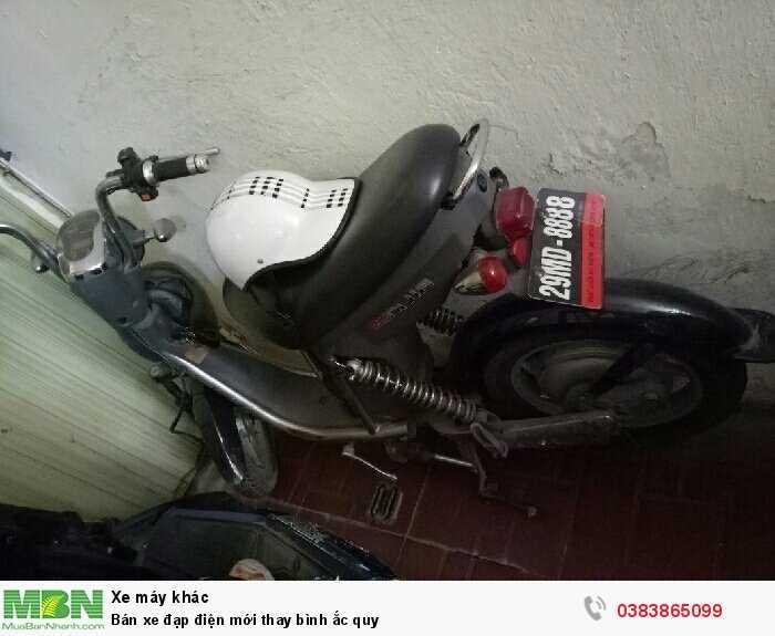 Bán xe đạp điện mới thay bình ắc quy