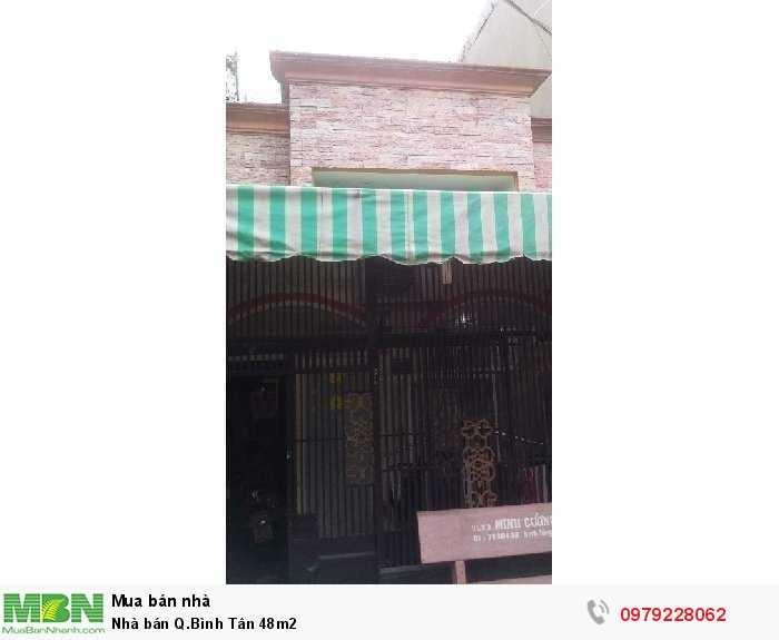 Nhà bán Q.Bình Tân 48m2