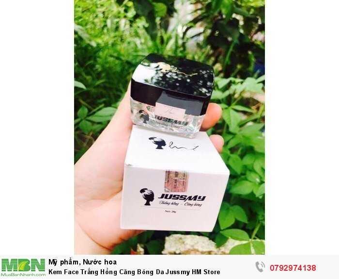 Kem Face Trắng Hồng Căng Bóng Da Jussmy HM Store0
