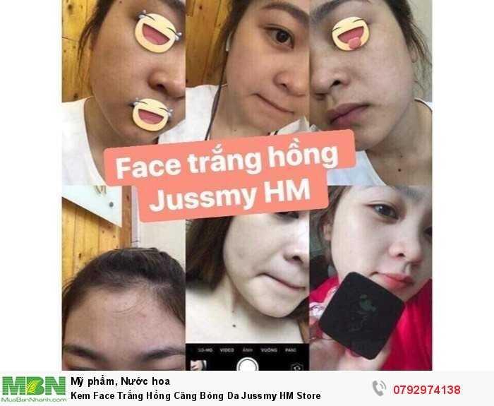 Kem Face Trắng Hồng Căng Bóng Da Jussmy HM Store3