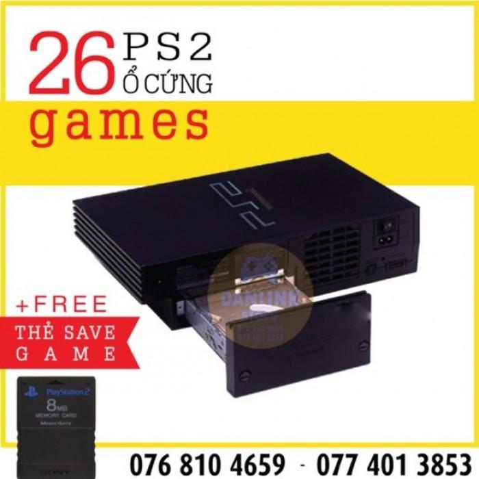Máy game ps2 ổ cứng Fat và save ps2 - PS2 Hdd1
