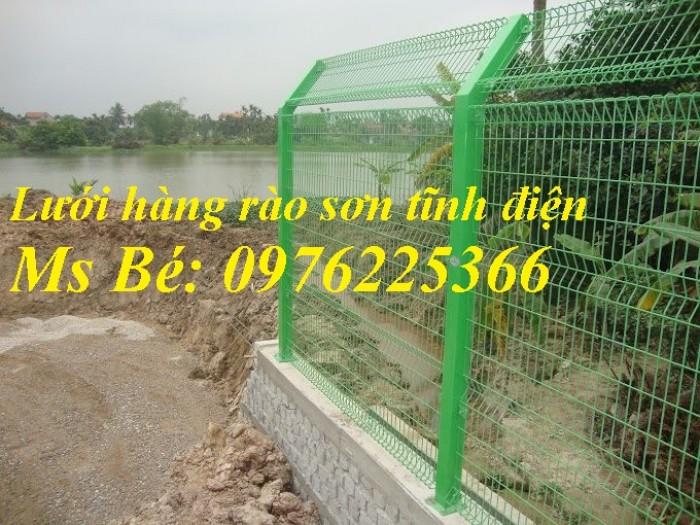Lưới hàng rào mạ kẽm sơn tĩnh điện D4, D5, D64