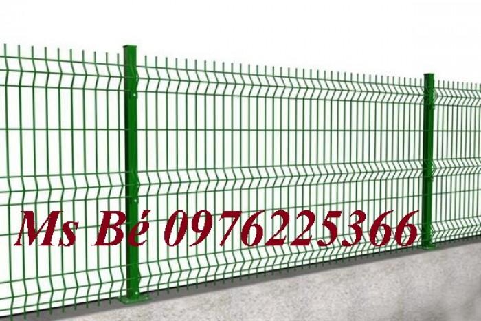 Lưới hàng rào mạ kẽm sơn tĩnh điện D4, D5, D63