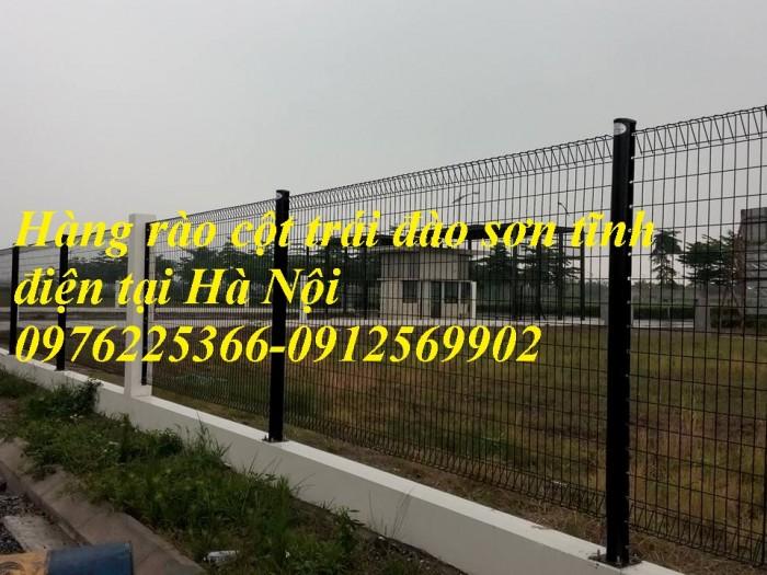 Lưới hàng rào mạ kẽm sơn tĩnh điện D4, D5, D62