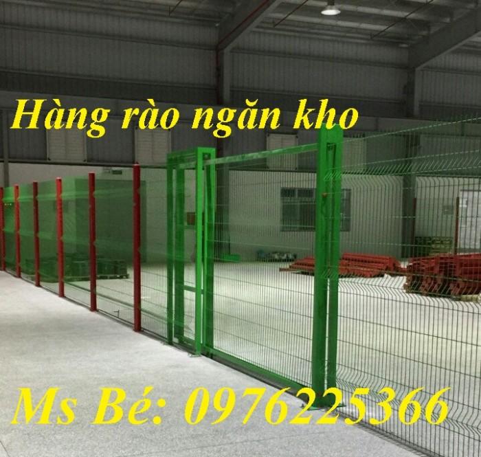Lưới hàng rào mạ kẽm sơn tĩnh điện D4, D5, D61