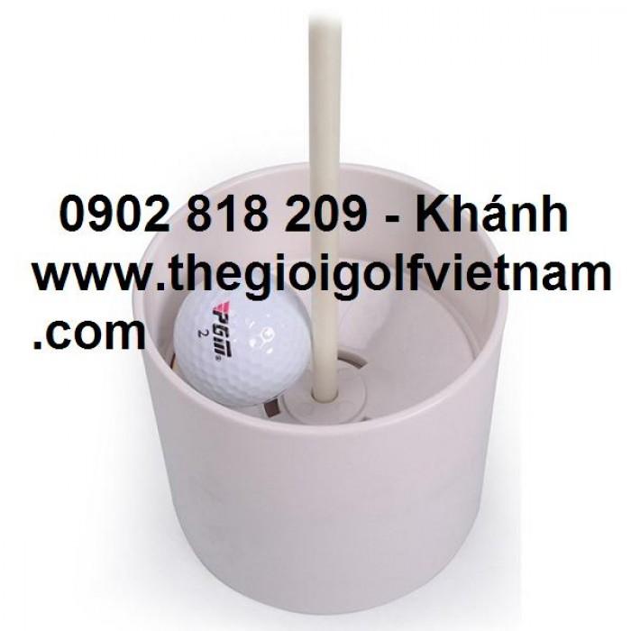 Bộ lỗ golf cột cờ nhựa 450k4