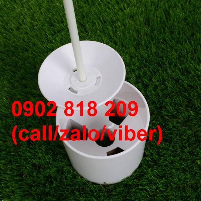 Bộ lỗ golf cột cờ nhựa 450k3