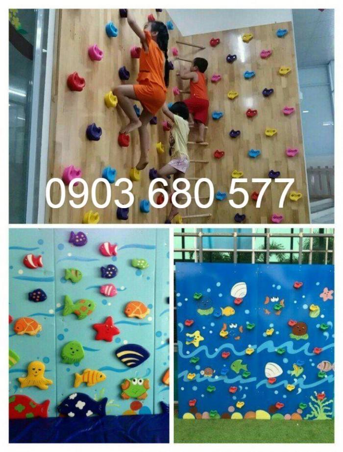 Tường leo núi trong nhà và ngoài trời cho trẻ em3
