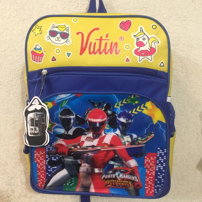Balo học sinh Vutin hình siêu nhân, Size 35x 300