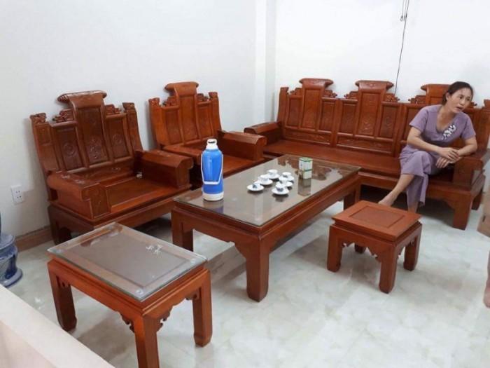 Bộ bàn ghế âu á kiểu cuốn thư tay hộp gỗ lim12